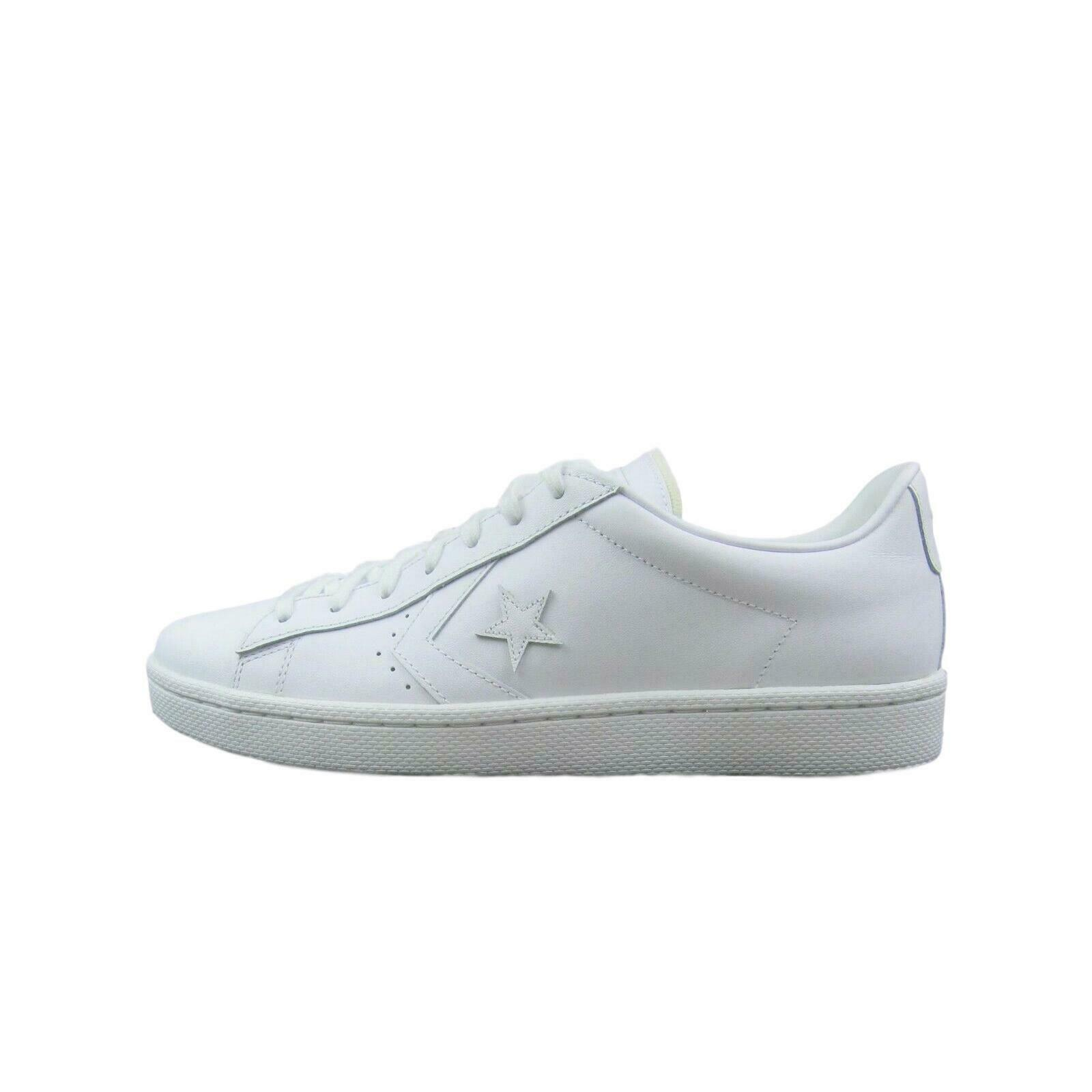 Converse Pro Leather Ox Low Triple White Shoes Size 11 Mens 155319C New image 2