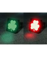 Dual Color Changing Clover Shamrock LED Hitch Cover - Brake Light - $59.95