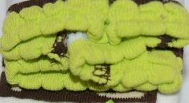 Mudpie Ruffle Socks Leggings Zebra Stripes Zero To Six Months image 5