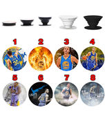 stephen curry pop up Phone Holder Expanding Stand Finger Grip Mount 8994 - $11.99