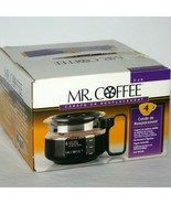 Mr Coffee D4B 4 Cup Replacement Glass Carafe Pot, Black Lid, NEW - Open Box - $23.33