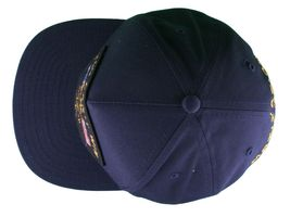 Motivation Voi Can'T Vinci Navale Blu Navy Snapback Cappellino Baseball Nwt image 6