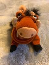 Disney Store The Lion King Pumba Warthog Bean Bag Plush Stuffed Animal 1... - $12.00