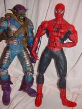 2004 Marvel Spider-Man Movie & 2005 Marvel Green Green Goblin Set of 2 F... - $75.00