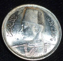 1937 Egypt 2 Piastres  KM# 365 -HIGH GRADE UNCIRCULATED - $58.41