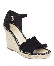 Marc Fisher Womens kickoff Leather Open Toe Casual Ankle Strap, Black, Size 9M - $54.44