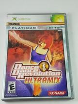 Dance Dance Revolution Ultramix Microsoft Xbox 2005 - $7.27