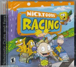 NICKTOONS RACING CD-Rom Computer Game Preowned - $9.95