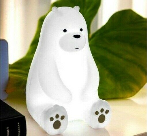 Reto WBL-P01 Ice Bear Mood Lamp Light Sleeping Sitting Bear Character Toy_MU