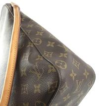 #33576 Louis Vuitton Looping Bucket Gm Tote Brown Monogram Canvas Shoulder Bag image 10