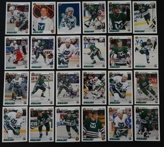 1991-92 Upper Deck UD Hartford Whalers Team Set of 24 Hockey Cards - $4.00