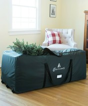 Heavy Duty Large Rolling Tree Storage Bag Fits trees up to 9 ft - $79.95