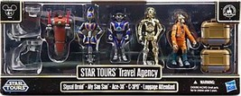 Star Wars 2013 Exclusive Battle Pack Star Tours Travel Agency [Signal Dr... - $128.69