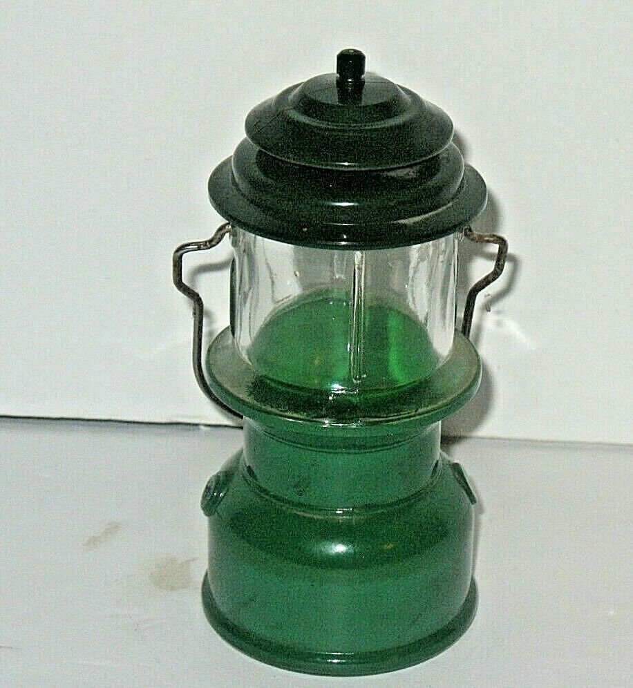 Decorator: Avon Coleman Oil Lantern Deep Woods Cologne, Empty Bottle