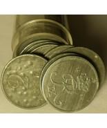 In Umlauf Gebracht Rolle (50 Münzen) Dänemark 2 Öre Münzen ~ Zink ~ 1944... - $23.69