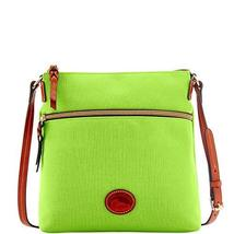 Dooney & Bourke Nylon Crossbody Apple Green - $169.00