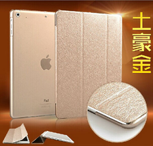 UK Gold Smart Magnetic Leather Stand Cover Back Case for Apple iPad Mini 4  - $6.64