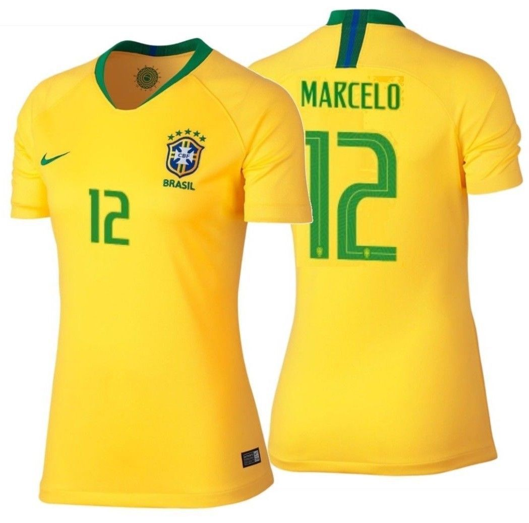 Nike Marcelo Brazil Home Women s Jersey Fifa and 50 similar items 8bbabcba1