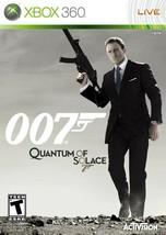 007 Quantum of Solace Xbox 360 X360  Complete CIB - $8.53