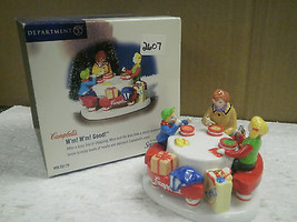DEPT 56- 55179 CAMPBELL'S M'M M'M GOOD!- RETIRED- NEW-STAINED BOX- L131 - $24.81