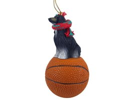 Afghan Black & White Basketball Ornament - $17.99