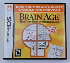 Brain Age: Train Your Brain in Minutes a Day (Nintendo DS, 2006) COMPLETE - $4.92