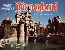 Walt Disney's- Disneyland A Pictorial Souvenir 1974 - $11.25