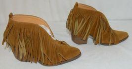 Beast Fashion Carrie 01 Camel Fringe Slip On Shoes Size 5 And Half image 3