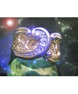 HAUNTED RING WAVES OF WEALTH EMPOWER SECURE YOUR WEALTH RICHES OOAK MAGICK  - $9,077.77