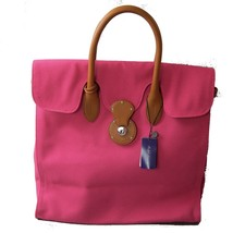 K-PR4320 New Polo Ralph Lauren PINK Canvas Handbags Satchel  Bags Ricky ... - $289.99
