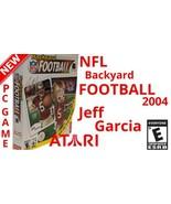 Vintage NFL BACKYARD FOOTBALL 2004 PC CD- ROM OLD GAME Jeff Garcia Atari... - $9.89
