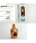 New Chiminea Burner with Box of Natural Wood Incense by Incienso de Sant... - $29.95