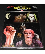 Vintage 1980s Fun World Living Nightmare Halloween Cut Outs Skeleton Zombie - $46.53