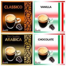 100 Capsules Compatible Nespresso Machines CLASSICO,ARABICA,VANILLA,CHOC... - $36.82