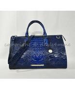 NWT Brahmin Anywhere Weekender/Duffel Bag in Sapphire Melbourne Embossed... - $395.00
