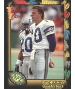 1991 Wild Card #34 Dan McGwire NM-MT RC Rookie Seahawks - $1.00