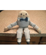 Handmade Old Mr. Humpty Doll  - Humpty Dumpty - Superbly Handsome with B... - $45.00