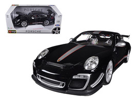 Porsche 911 GT3 RS 4.0 Black 1/18 Diecast Model Car by Bburago - $69.99