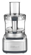 Cuisinart FP-8SV Elemental 8-Cup Food Processor, Silver - $90.00