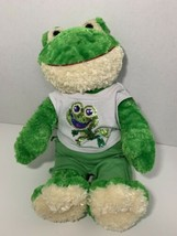 """Build-a-Bear Workshop Limited Too 2000s 18"""" frog green plush sequin shirt sweats - $19.79"""