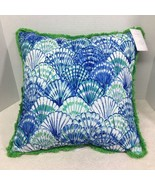 NWT Lilly Pulitzer In Oh Shello For Pottery Barn 20 x 20 In Pillow Shell... - $84.15