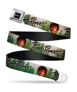 Bob Ross Autograph Smiling Pose with Trees Seatbelt Belt - $24.99+