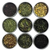 Heavenly Tea Leaves Classic 9 Tea Sampler, 9 Classic Loose Leaf Teas & T... - $32.43