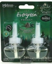 1 Glade PlugIns 1.34 Oz Disney Frozen 2 Icy Evergreen Forest 2 Count Oil... - $14.99