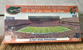 "NIB UNIVERSITY OF FLORIDA 13"" x 39"" 33cm x 99cm  PANORAMIC JIGSAW PUZZLE... - $19.58"