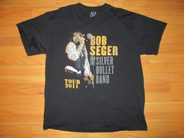 8P/RARE 2011 BOB SEGER CONCERT T SHIRT/XL/NICE CONDITION/FRUIT OF THE LOOM! - $49.45