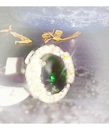 BRING ME MONEY AND SUCCESS SPELLBOUND EMERALD RING - $45.99