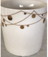 Starbucks Christmas Coffee Mug Cup Gold Ornaments New Free Shipping  - $30.00