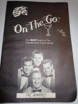 Vintage On The Go With Doris and Art Your Weekly Guide To Fun 1961 Calif... - $7.99