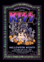 KISS Oct 31st 1998 Halloween Night Dodger Stadium Reproduction Stand-Up ... - $15.99